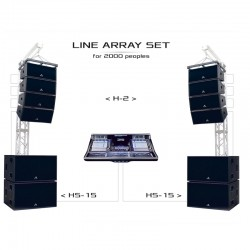 Line-array-set